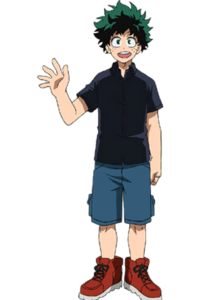 Hi, I'm Izuku Midoriya