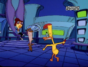 DUCKMAN ON CARTOON NETWORK SPAIN