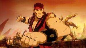 Liu Kang (Mortal Kombat Legends Scorpion's Revenge)