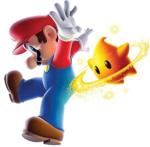 Restoration of an official Rare Super Mario Galaxy 2 render