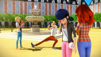 Stormy Weather - Adrien, Manon, Marinette and Alya 00