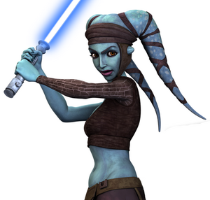 Aayla Clone Wars 3D