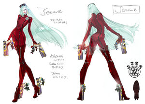 Concept Art - New Jeanne (1)