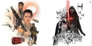 Force Awakens Promo Art