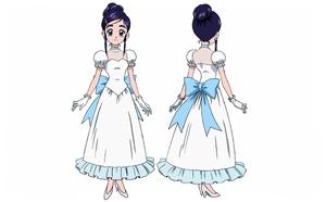 FwPCMH movie1-BD art gallery-06-Yukishiro Honoka dress