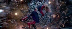 Spider-Man saves Gwen