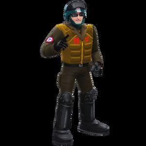 Spider Troop GUN Soldier