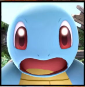 Squirtle kamikazee reaction