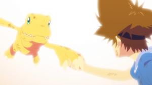 Agumon and Tai