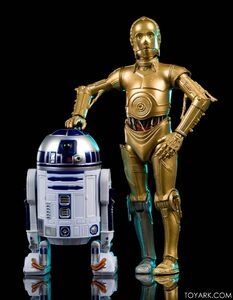 C-3PO and R2-D2 ANH - Black Series