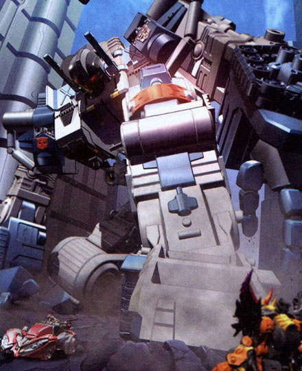 Metroplex (Transformers Cybertron)