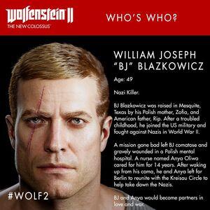Blazkowicz-Profile