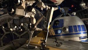 R2-D2 batlle