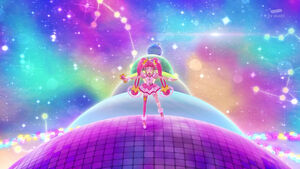 Romantic Star dancing on disco