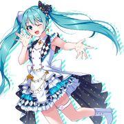 Yande.re 703766 dress garter hatsune miku project sekai colorful stage! tagme vocaloid
