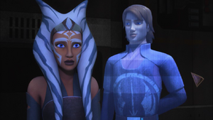Anakin practices