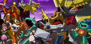 Fusion Fighters and Apollomon