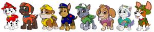 Paw patrol by kingleonlionheart-d6q00u9