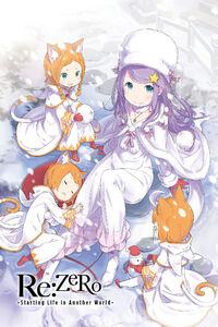 ReZero Light Novel Volume 6 Cover Art