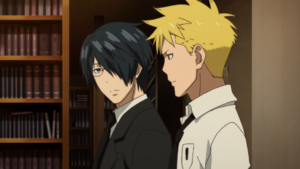 Soul Eater NOT Episode 10 HD - Akane and Clay investigate break in