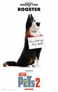 The Secret Life of Pets 2 Character Poster - Rooster