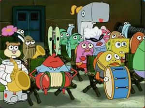 Eugene with accordion