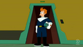 Fry as a cop