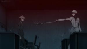 Kyosuke threatens Makoto