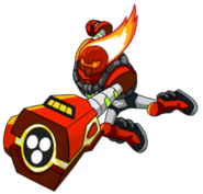 OK Heatblast Pose