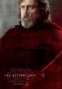 The Last Jedi Luke Spanish Character Poster