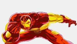 Iron Man in Marvel Super Heroes