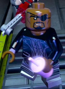Nick Fury Lego Marvel's Avengers