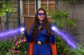 Phoebe as Thundergirl
