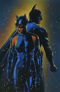 Batman-Catwoman Issue -2 Vaint Cover