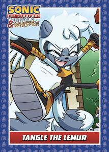 IDW Trading Cards - Tangle the Lemur (1)