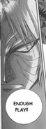 Link's heroic stare in his Fierce Deity form