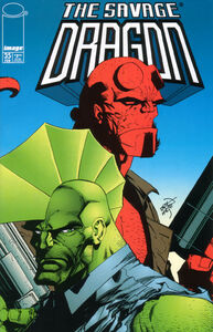 Savage Dragon Issue 35 Cover