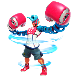 Spring Man ARMS character art 02