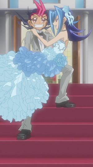 Yuma and Rio marry in Bronk's fantasy