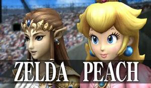 Zelda and Peach