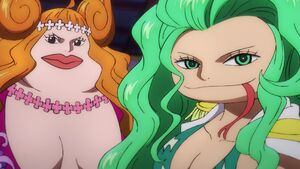 Boa Marigold and Boa Sandersonia appearance in Wano Country