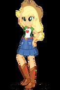 Equestria Girls Digital Series Applejack official artwork