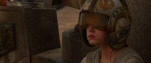 Rey Rebel Pilot Helmet