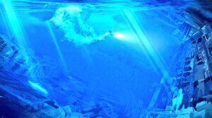 Rey underwater 2