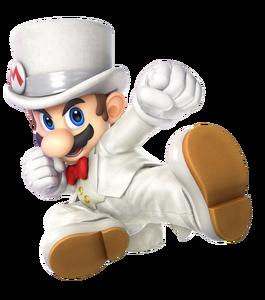 SSBU Wedding Mario