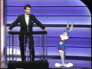 Tom Hanks and Bugs Bunny