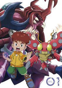 Digimon Adventure (2020) DVD Vol 1 - Izzy and Tentomon