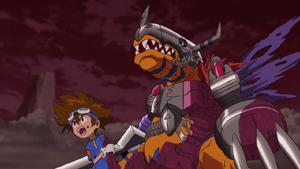 Ep 24 - Taichi and MetalGreymon