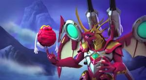 Helix Dragonoid and McDonald's Box