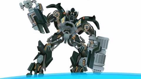 IRONHIDE transform - Short Flash Transformers Series